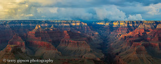 Storm Brewing over the North Rim
