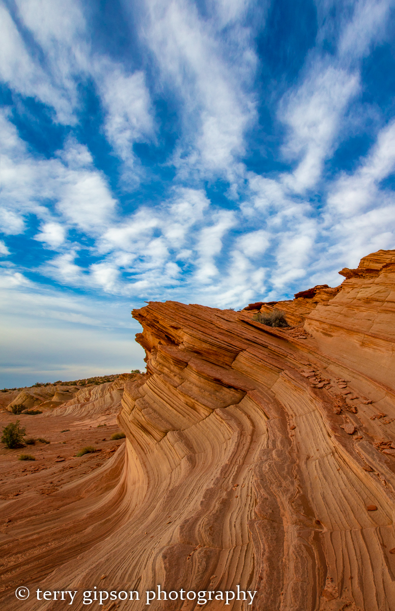Navajo Wave, Arizona, photo