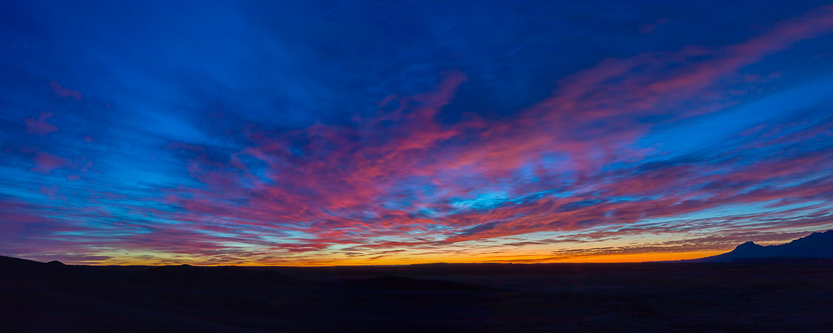 Factory Butte sunrise,Factory Butte, Utah, photo