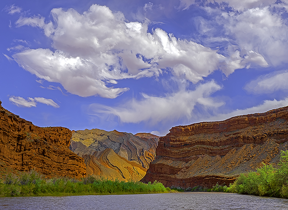 San Juan River, Mexican Hat, photo