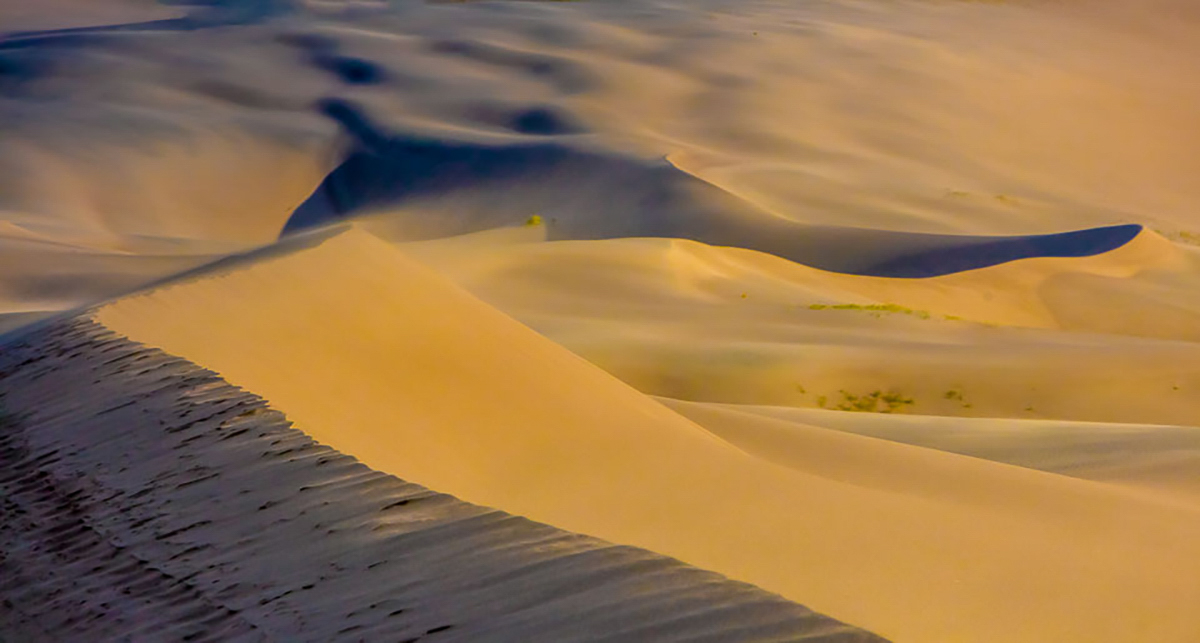 Great Sand Dunes, Colorado, sand storm,evening, photo