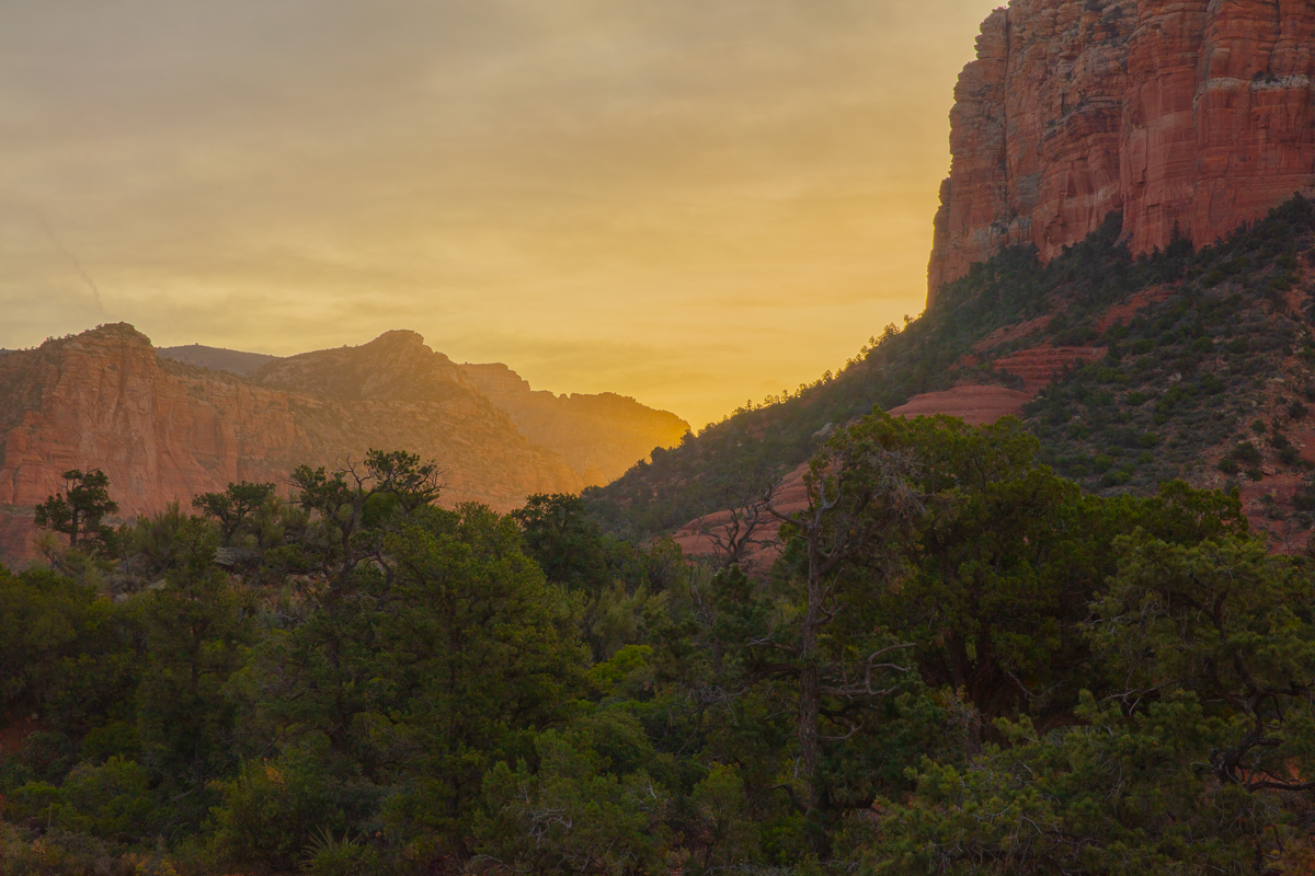 Sunrise South of Sedona